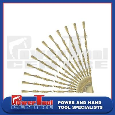 Pegas 90.500 Spiral Tooth Wood Soft Metal & Plastic Scroll Saw Blades 12 Pack