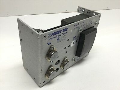 Power One HN12-5.1-A Linear Power Supply In: 100-240VAC Output: 12VDC @ 5.1A 61W