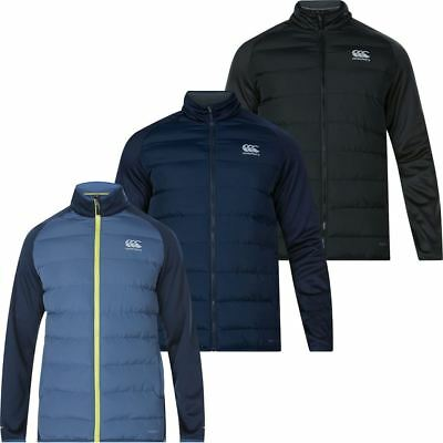 Canterbury 2017 Mens ThermoReg Hybrid Full Zip Water Resistant Jacket