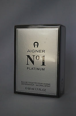 Etienne Aigner No 1 Platinum edt spray 50ml # 74-13-5