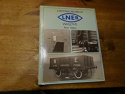 A Pictorial Record Of LNER Wagons by Peter Tatlow.