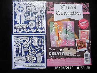 Hunkydory-STYLISH-SILHOUETTES-LASER-CUT-FOR-CRAFTERS Magazine Issue 1 & Extras
