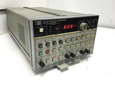 HP 3314A Multi-Function Generator Frequency Waveform Synthesizer .001Hz to 20MHz