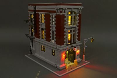 Brickstuff Led Lighting Kit For Lego 75827 Ghostbusters Firehouse Headquarters