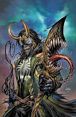 Avengers #11 Venomized Loki Variant Preorder Nm First Print Bagged And Boarded