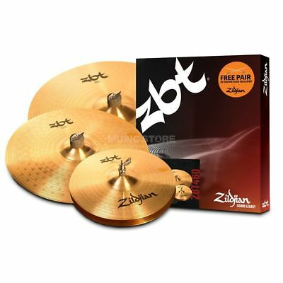"Zildjian Zildjian - ZBT Box Set incl. Sticks, 14"" HH, 16"" CR, 20"" R"