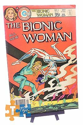 "The All New Bionic Woman #4 Charlton Comics May 1978 ""Reading Copy"""