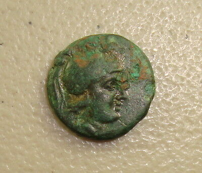 323-281 BC Thrace-Kings, Lysimachos Ares / Lion Ancient Greek AE17 VF