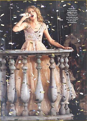 Taylor Swift, Country Music Star in 2012 Magazine Print Photo Clipping