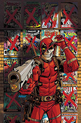 Deadpool Kills Marvel Universe Again #5 Preorder No Extra P&p Bagged And Boarded