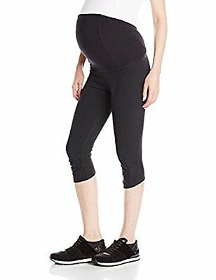 NWT Ingrid & Isabel Active Legging Knee Pant ft. Crossover Panel Maternity small