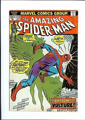 AMAZING SPIDER-MAN #128 1974 Marvel The Shadow of the Vulture VG