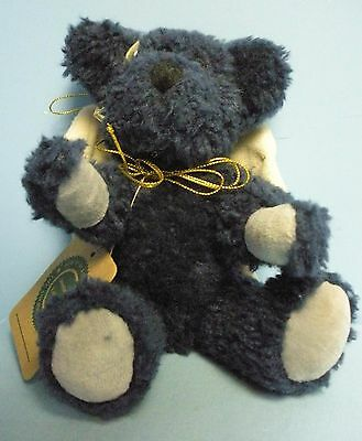"Boyds Plush . 9""T . Archive Collection . Blue Angel Bear ."