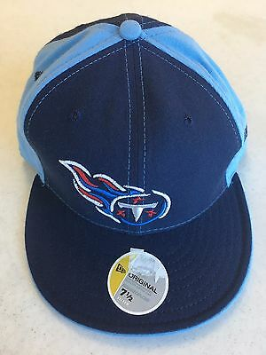 60335eb1 TENNESSEE TITANS RETRO New Era 5950 Navy W/ White Front Panel Fitted ...