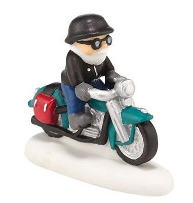 Dept 56 NP Harley-Davidson  Knucklehead On a Mission  BRAND NEW Free Shipping