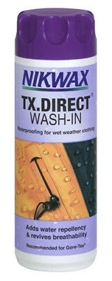 Nikwax Tx.direct Wash-In Water Proofing For Wet Weather Clothing Sqsp