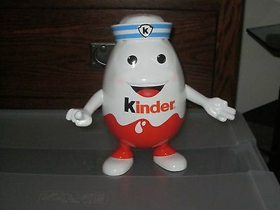 "Kinder Egg Surprise Candy Dish Toy Figure 9-1/2"" Tall"