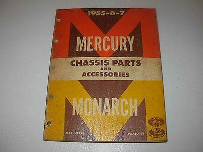 1955 - 1957 Mercury & Monarch Parts Manual