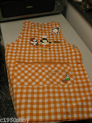 Pingu Rare Children's Apron New With Tags Free Shipping In The Usa