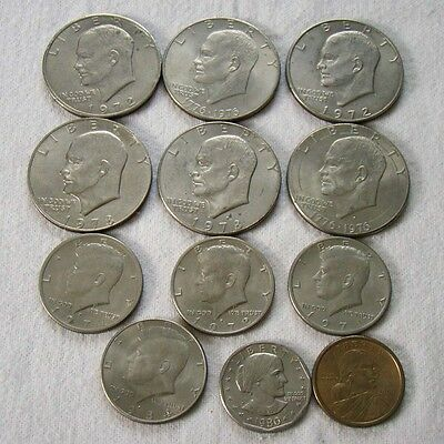 12 x USA - Lot Dollar - half Dollar - Art. 7597