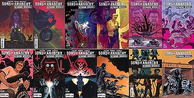 Sons Of Anarchy: Redwood Original #1-12 (Complete) Boom/ Masters/ Sutter/ 2016