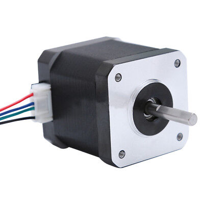 Bipolar Stepper Motor Nema 17 47mm 1.7A 80oz.in(55Ncm)  4 Lead For 3D Printer
