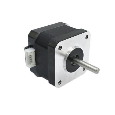 Stepper Motor Nema 17 Bipolar 34mm 43oz.in(30Ncm) 0.4A 4 Lead for CNC 3D Printer