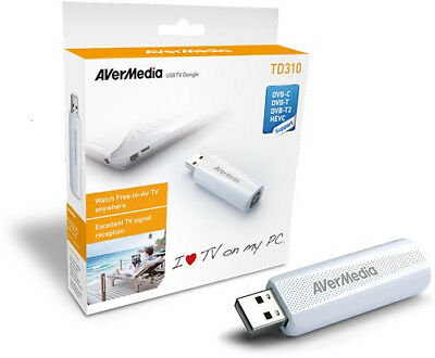 AVerMedia TD310 DVB-T/T2 TV TUNER USB Dongle / Stick