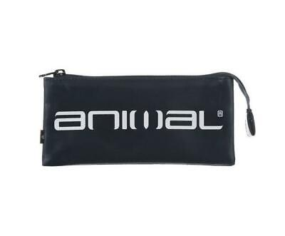 "Animal ""maddocks"" 3 Pocket Pencil Case Rrp £10. Total Eclipse Navy (He6Wj006)"