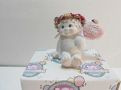 Dreamsicles 2000 BEE MINE #11508 Cast Art Kristin Cherub w Red Heart #d