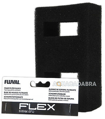 Fluval Flex 57L Stage 1 Foam Filter Block A1375 Mechanical Media Aquarium Tank