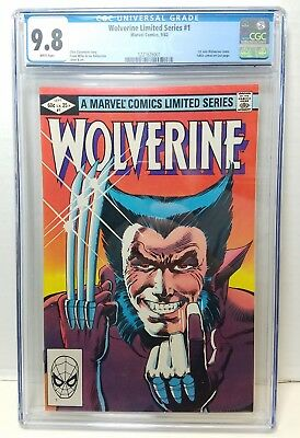 1982 Marvel Comics Wolverine #1 First Solo Comic CGC 9.8 White Pages KRG3-007