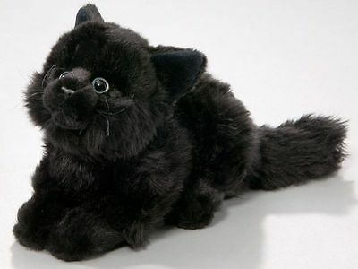 New Plush Cuddly Critters Black Cat Soft Toy Kitten Teddy