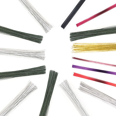 Culpitt 50pk Coloured Florist Wire for Floral Gumpaste Sugar Flowers Sugarcraft