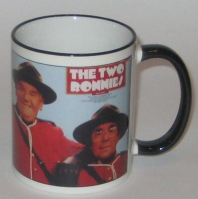 The TWO RONNIES Pottery MUG w/The SCOUT'S JAMBOREE Show PICTURE