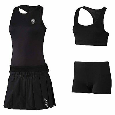 adidas Roland Garros Y-3 RGY3 BG Dress Tennis Dress black Women new