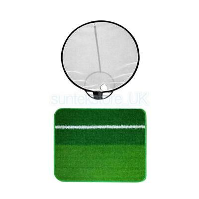 New Portable Golf Training Chipping Net & Hitting Mat Beginners Practice