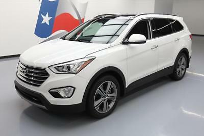 2015 Hyundai Santa Fe  2015 HYUNDAI SANTA FE LTD ULTIMATE 6-PASS PANO ROOF NAV #106808 Texas Direct