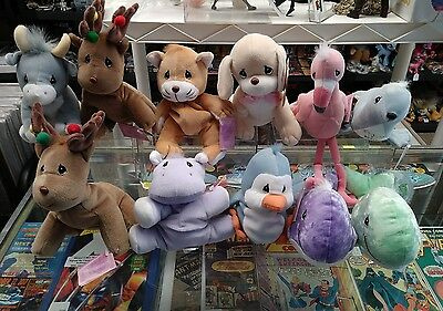 Lot of 11 Precious Moments Tender Tails Plush