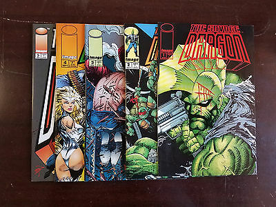 1993 Image Comics Lot Of 5 Savage Dragon #1-5 All First Prints  Flat Rate S/h