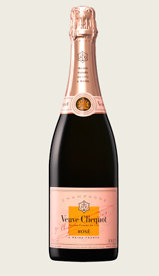 Veuve Clicquot Rosé NV (6 x 750mL), Champagne, France.