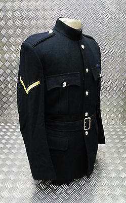 Genuine Vintage British Army The Kings Own Regiment No1 Dress Jacket And Belt