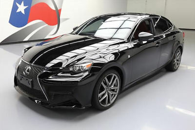 2014 Lexus IS  2014 LEXUS IS250 F-SPORT SUNROOF NAV HTD LEATHER 19K MI #042980 Texas Direct