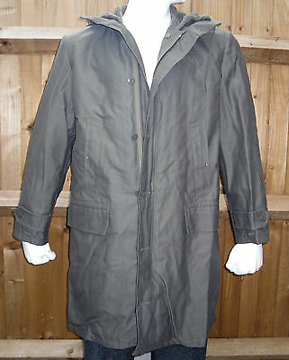 Genuine German Army Cold Weather NATO Parka Jacket Classic Item - Size M - GR 46
