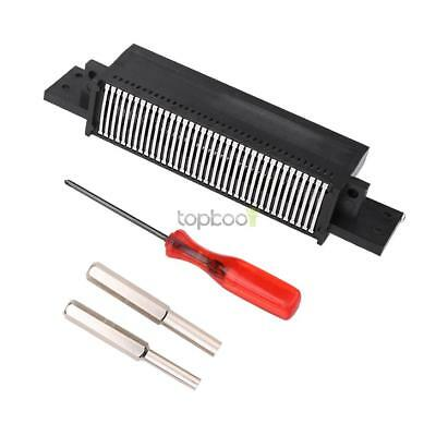 72 Pin Replacement Connector +Screwdriver Bit for Nintendo NES 8 Bit System New