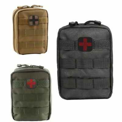 Molle Tactical Military 600D EDC Utility Bag Medical First Aid Pouches Case Tool