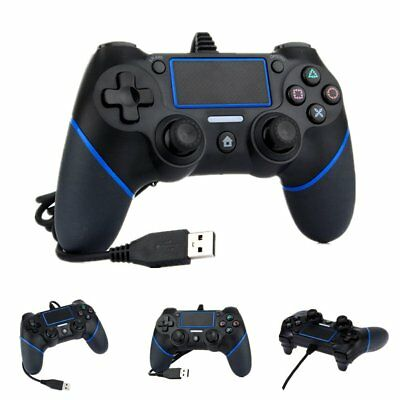 Juego por Cable Controlador Gamepad Mando Joystick para Sony Playstation PS 4