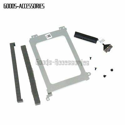 Pour Dell XPS 15 9560 9550 Precision 5510 XDYGX HDD Cable + Caddy +Rubber Rail