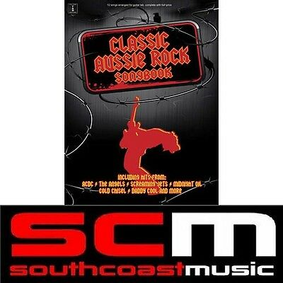 Classic Aussie Rock Song Book Guitar Tab Tablature + Dvd 50% Off Hits Sonbook