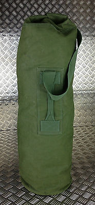 Genuine British Army Green Canvas Kitbag / Duffle Bag / Seasack - Grade 1
